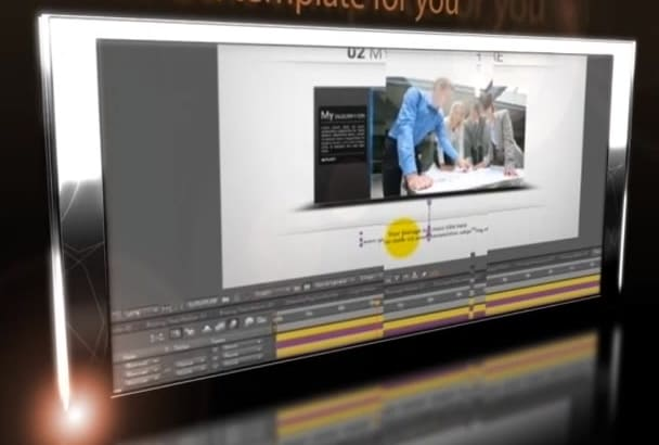 edit after effect template from video hive