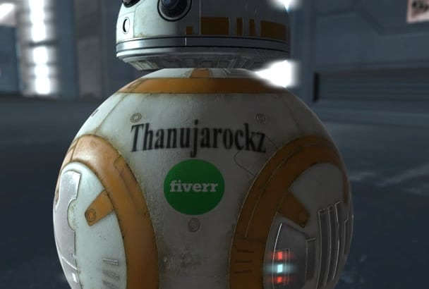 put your logo on BB 8 Robot