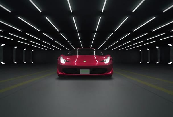 this awesome car intro