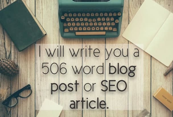 write you a 506 SEO keyword article or blog post