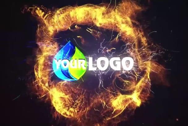 make 2 of 111 unique YouTube logo animation video intro