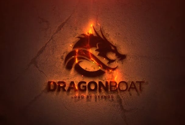 do this awesome fire logo intro
