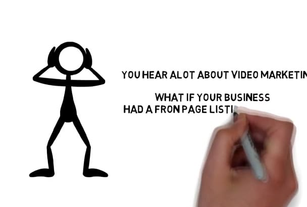 create a Whiteboard Animation Video 4 Any Niche