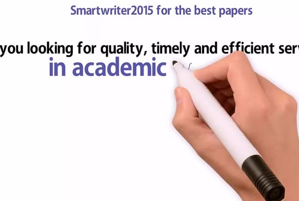 research and write outstanding article for you