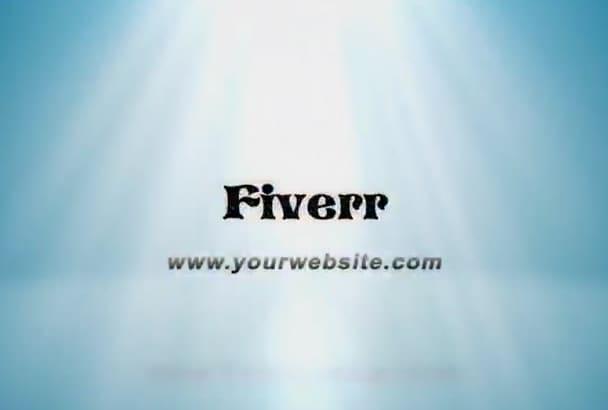 animated your brand logo