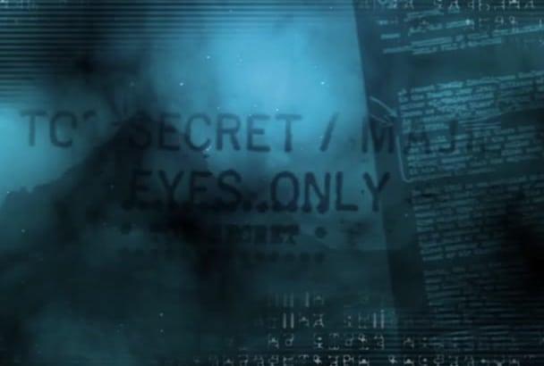 do video intro UFO