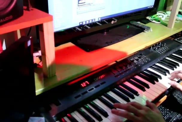 compose original piano music for your projects