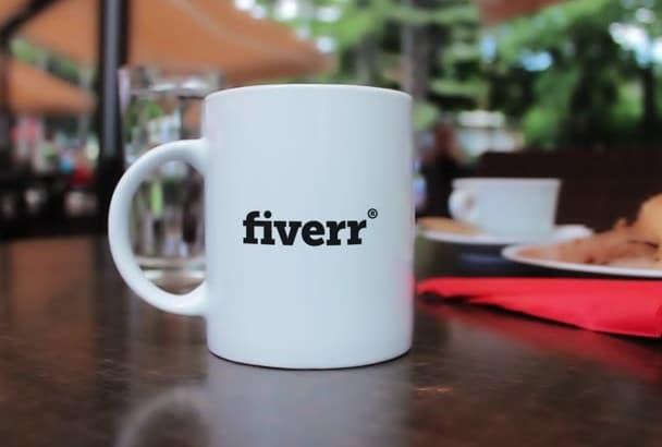 edit This Cup Mug Intro Logo Video