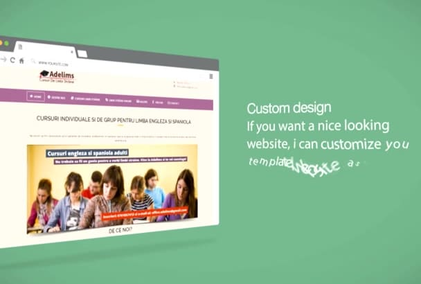 create a website for your business