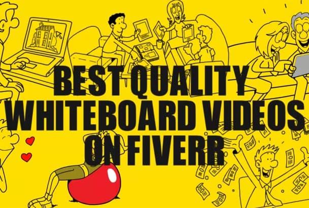 do interactive WHITEBOARD animation video