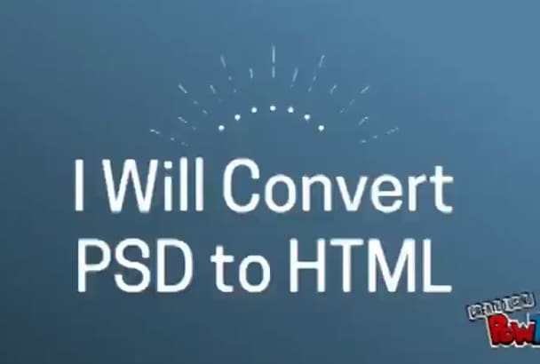 convert psd to HTML Bootstrap