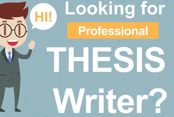 proofread,edit and Write Thesis or Research papers