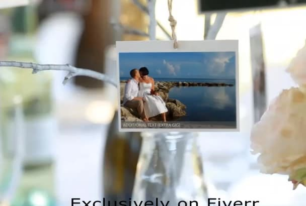 create AMAZING wedding or love video
