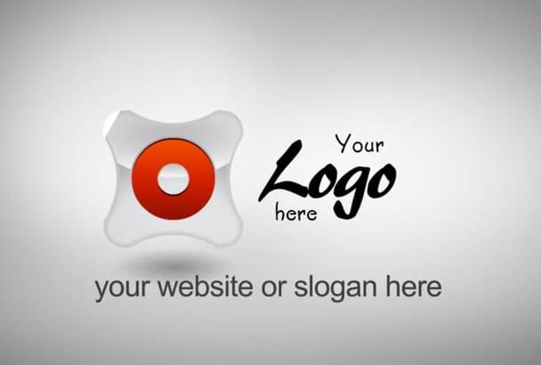 make this photography Logo intro