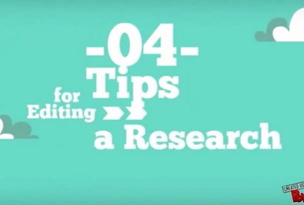 do an extensive academic research work for you