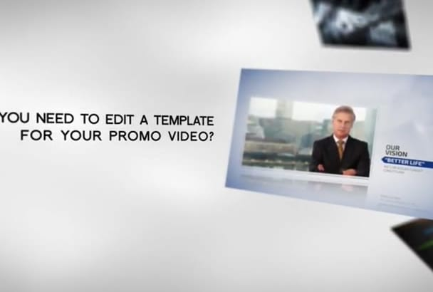 edit After Effects template