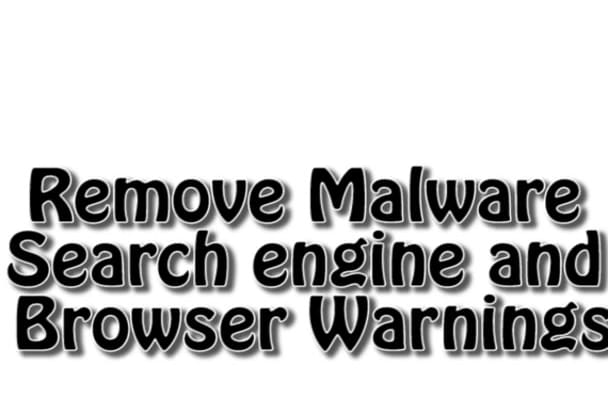 fix hacked website and search engine warnings