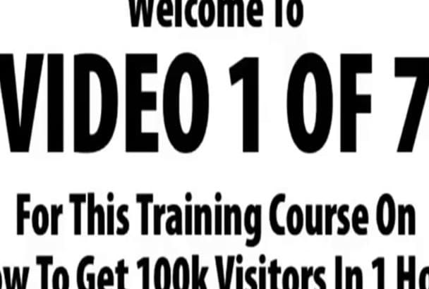 get 2,000 to 8,000 Real Human Visitors to your website daily