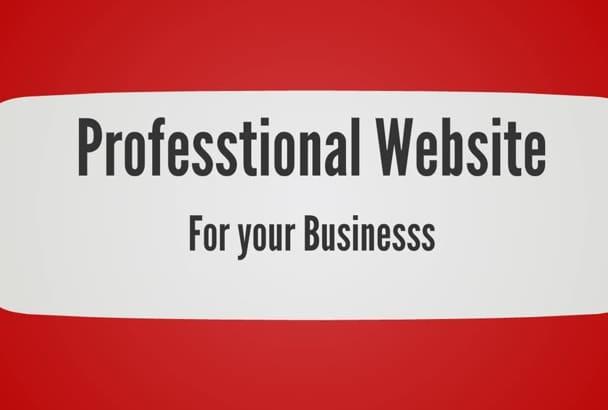 design a WORDPRESS website or Responsive website design
