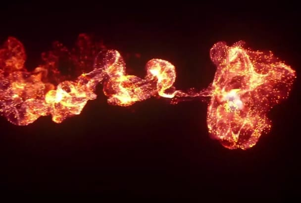 do colorfull fire and smoke intro