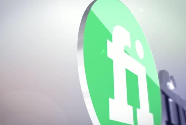 do amazing 3d logo reveal