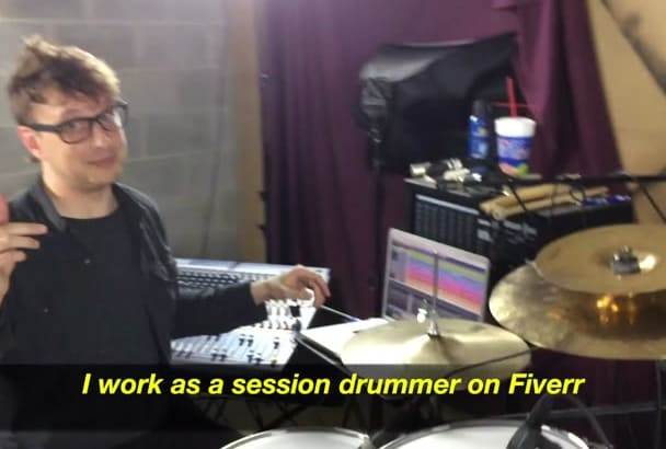 play drums on your song