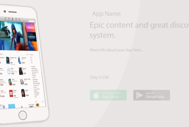 promote your App or mobile website with this cool video