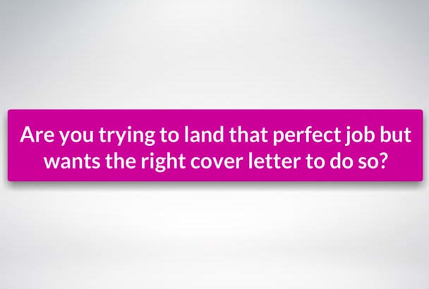proofread and improve your cover letter
