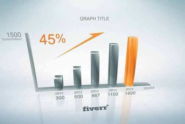 do Creative 3d Growth Chart