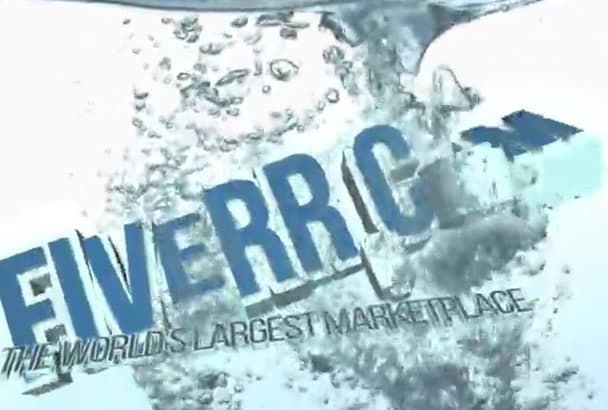create this stunning 3D water Intro