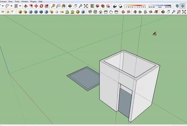 do any 3D request in Sketchup