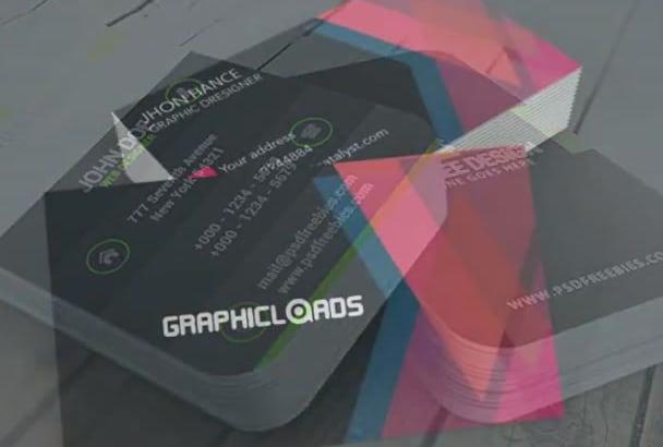 design a premium quality BUSINESS card