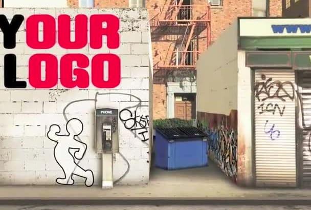 create a Cool WALK Through The City video