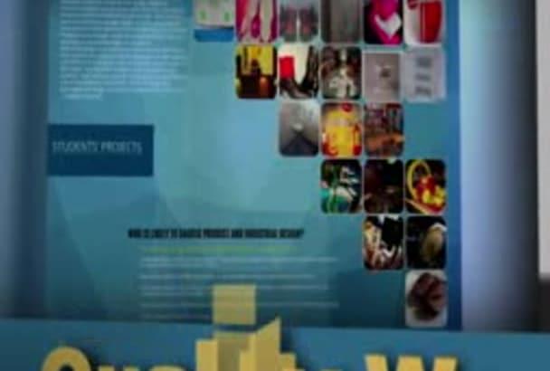 design fantastic, eye catching flyer just for you