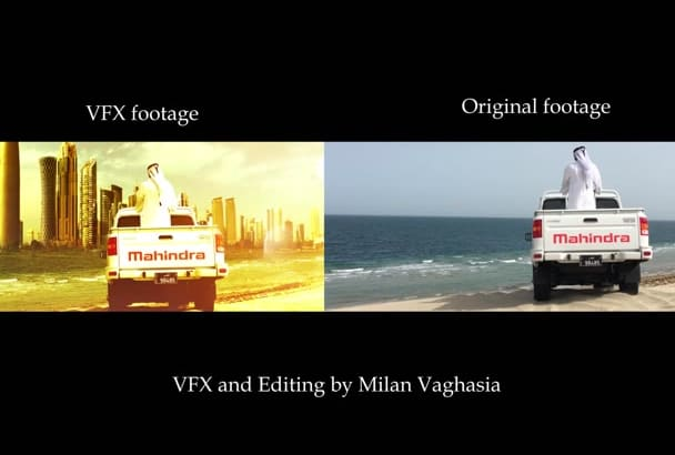 edit VFX work for you