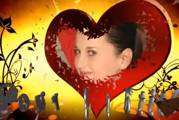 create Love  ceremony Animation YouTube Logo Video Intro