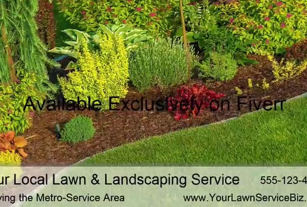 produce a Custom Video for Landscaping Providers