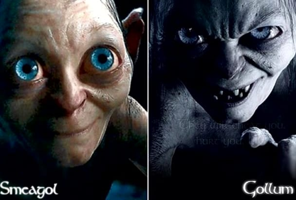 do a Gollum or Smeagol impression
