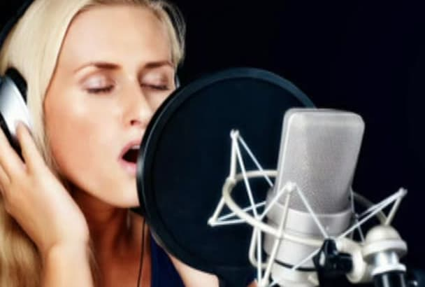 record American Female Voice Overs 24 to 48 Hours