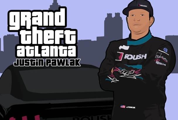 make your photo into Grand Theft Auto GTA Style