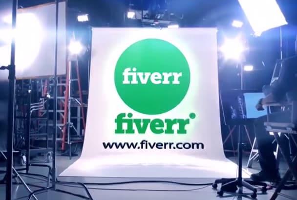 advertise your Company Logo in FILM Studio