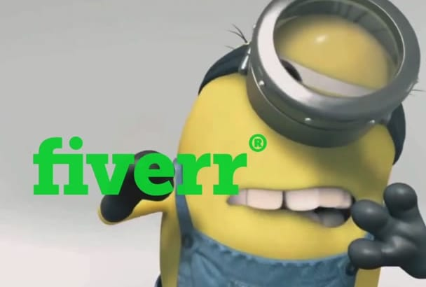 advertise your logo or text by minions