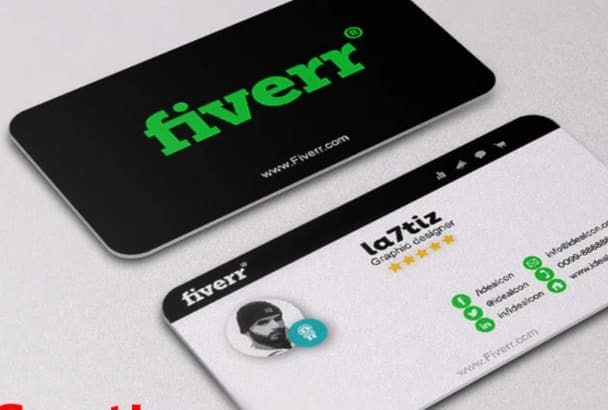 create a professional double side business card