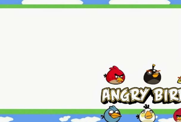create a Special Angry bird Birthday Whiteboard Animation