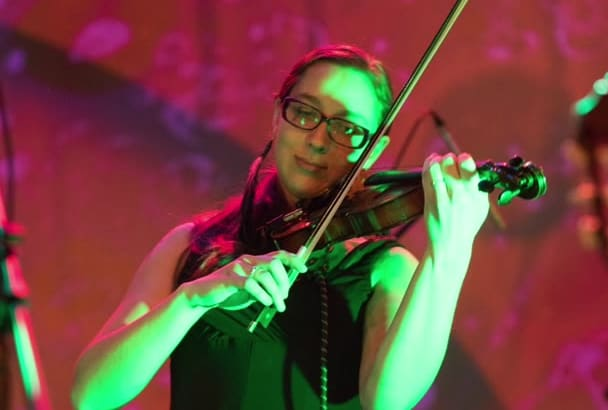 write and record a custom violin line