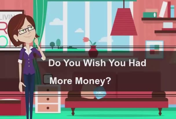 create this make money online  EXPLAINER video in hd