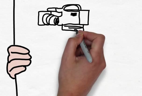 create whiteboard  videos in 24 hours for 5 dollars