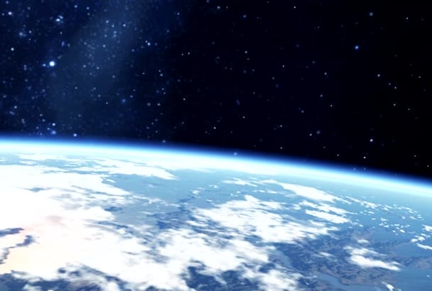 do 3D Logo and Earth intro HD