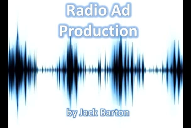 professionally produce your 30sec RADIO ad