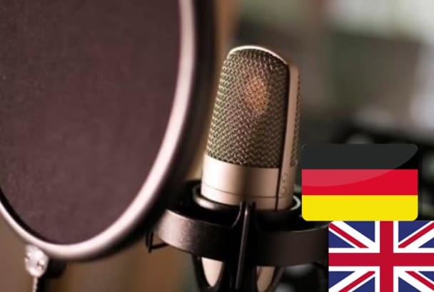 record a german or english child voice over